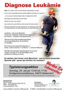 Typisierungsaktion in Mettendorf @ Dorfgemeinschaftshaus | Mettendorf | Rheinland-Pfalz | Deutschland